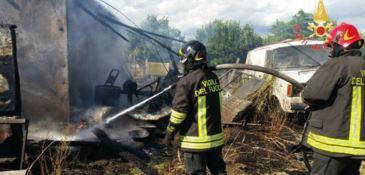 Incendio in un'abitazione a Sellia Marina