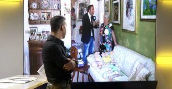 L'appello della famiglia durante la trasmissione I fatti in diretta