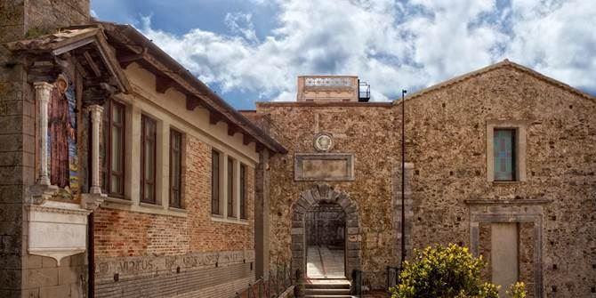 Palazzo Santa Chiara, sede del Sistema bibliotecario vibonese
