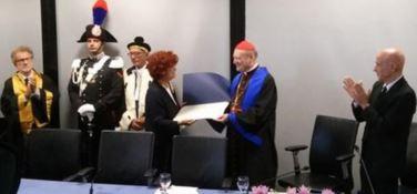 Cerimonia di consegna Laurea Honoris Causa a Monsignor Gianfranco Ravasi