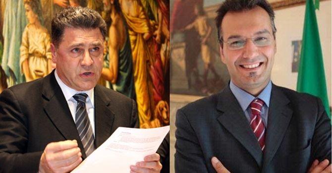 I consiglieri regionali Nicolò e Giudiceandrea