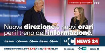 Nuova direzione e nuovi orari per il treno dell'informazione di LaC News24