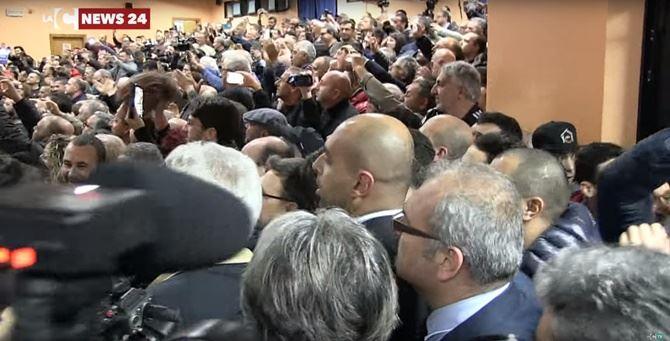 Il popolo di Salvini a Rosarno