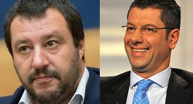 Matteo Salvini e Giuseppe Scopelliti
