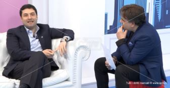 """Andrea Gentile ospite nella trasmissione di LaC """"Divano volante"""""""