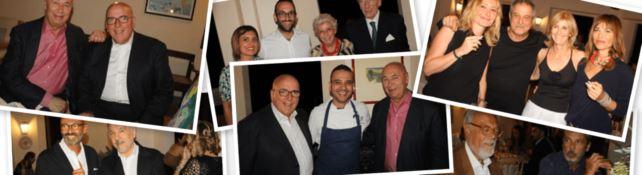 Le foto della cena vip pagata dalla Calabria