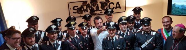 Il Ferragosto di Salvini in Calabria. «Vogliamo far scomparire tutte le mafie»