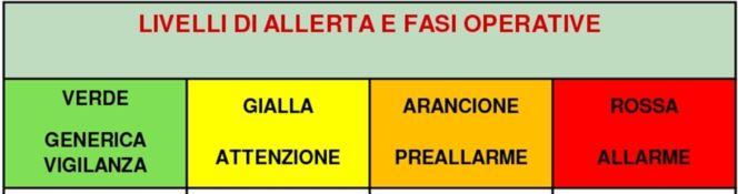 L'allerta meteo in Calabria passa sull'arancione. La fase di preallarme preoccupa i sindaci