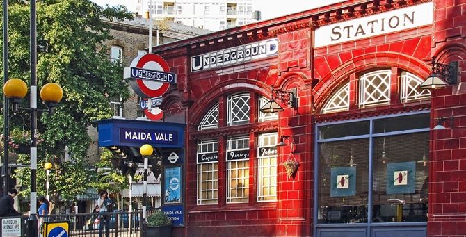 Maida station a Londra
