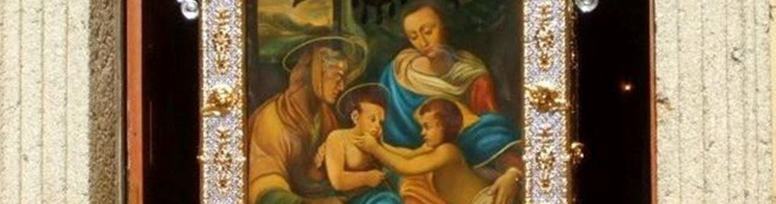 Il quadro della Madonna della Neve