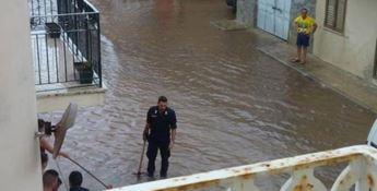 La situazione a Nicotera Marina (Foto Alessandra Agostino, Facebook)