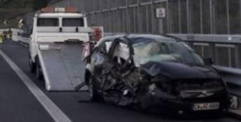 Tedesco contromano in autostrada: muore un calabrese padre di 4 figli