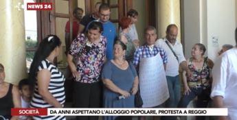 Reggio, i cittadini occupano il Comune per il diritto alla casa