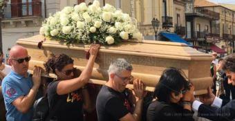 I funerali di Mario Congiusta