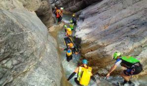 Raganello, il canyon del Pollino