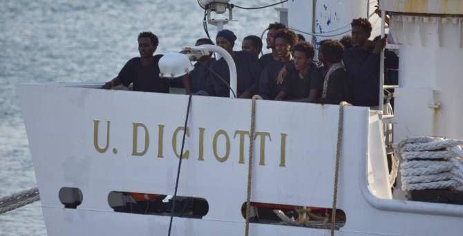 La nave Diciotti