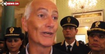 Reggio Calabria, il capo della Polizia Gabrielli