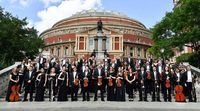 L'ensemble della Royal Philharmonic Orchestra