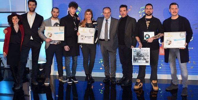 I vincitori della precedente edizione del Premio Musica contro le Mafie