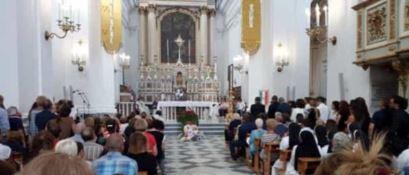 La Basilica di Santa Croce di Torre del Greco dove si sono svolti i Funerali di Maria Immacolata Marrazzo