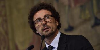 Il ministro Danilo Toninelli il primo ottobre a Reggio Calabria