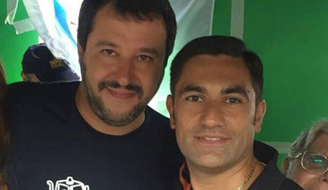 Matteo Salvini e Domenico Furgiuele