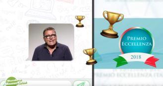 Premio Eccellenza italiana, il WhatsApp del giornalista Massimo Lucidi