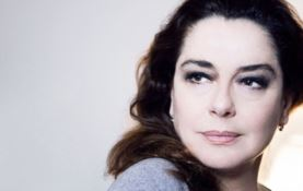 L'attrice Monica Guerritore