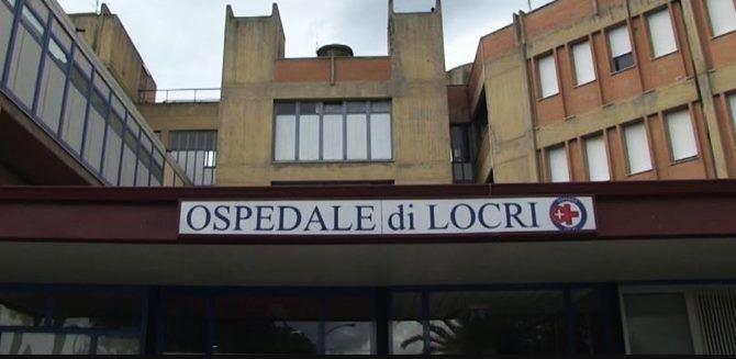 L'ingresso dell'ospedale di Locri