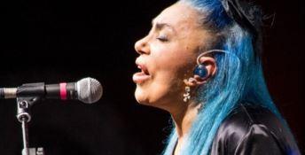 Loredana Bertè in concerto al Festival d'Autunno a Catanzaro