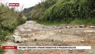 Viabilità al collasso a Cessaniti: cittadini sul piede di guerra – VIDEO