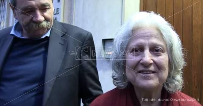 L'avvocato De Pace e Rosaria Scarpulla