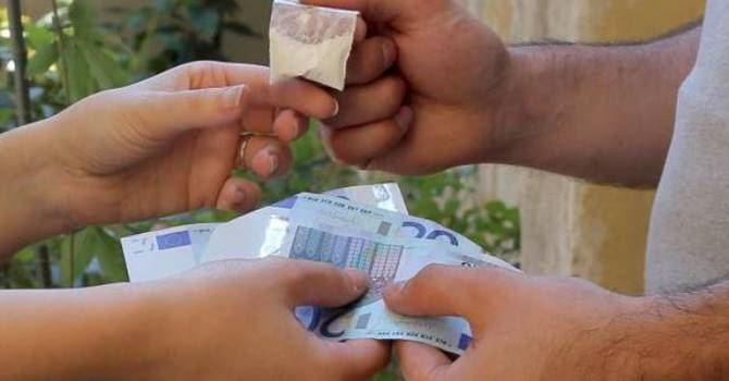 Uno scambio di droga