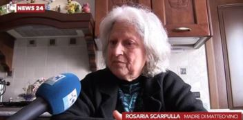 Rosaria Scarpulla, madre di Matteo Vinci