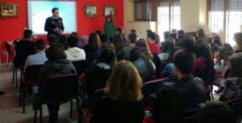 La legalità, Carabinieri e studenti di Roccabernarda a confronto