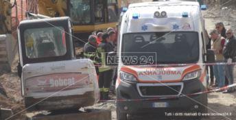 Dramma sul lavoro a Crotone, l'operaio ferito trasferito fuori città