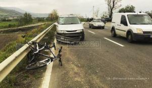 Ciclista travolto sulla statale 18, trasportato in ospedale