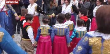 A Civita si celebrano i colori della cultura arbereshe