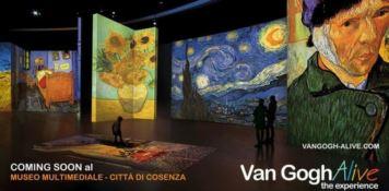 Van Gogh, mostra multisensoriale a Cosenza