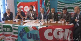 La sicurezza sul lavoro al centro del Primo Maggio dei sindacati a Carfizzi - VIDEO