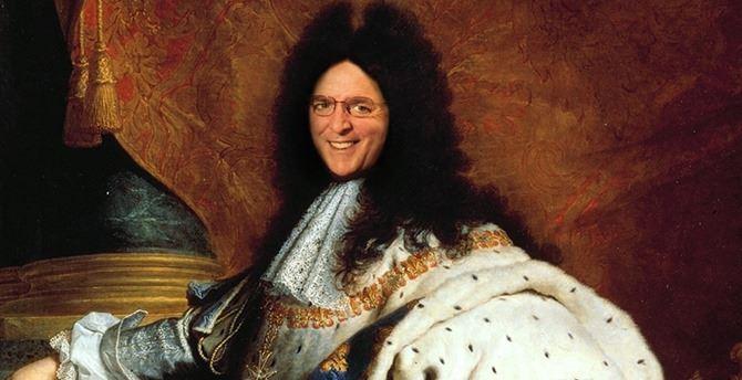 Oliverio come il Re Sole nella Versailles calabrese