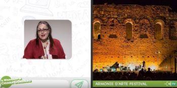 Armonie d'arte festival, il WhatsApp di Chiara Giordano