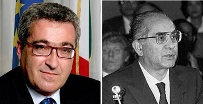 Demetrio Battaglia ed Emilio Colombo