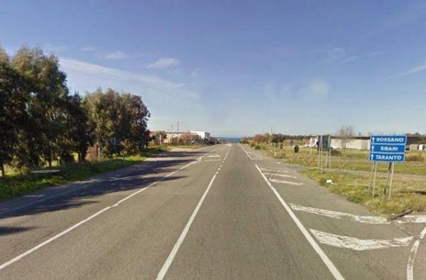 un tratto della statale 106