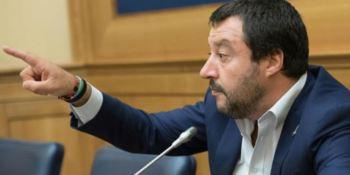 Salvini: «Saviano come Falcone e Borsellino??? Ma per favore»