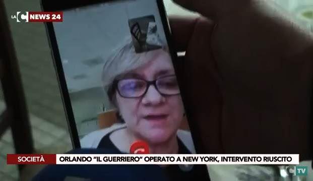 La mamma di Orlando Fratto