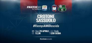 SERIE A | Crotone, contro il Sassuolo lo slogan è  #riempiamoloscida - VIDEO