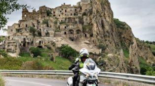 Genova-Palermo in moto, il tour fa tappa in Calabria