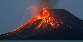 Un'eruzione dello Stromboli