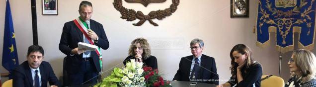 Il ministro Lezzi a Polia
